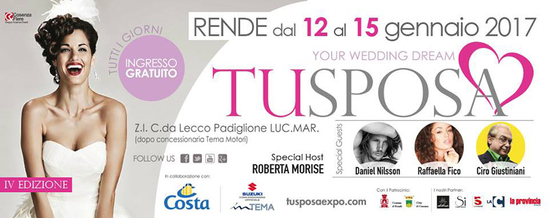 Appuntamenti wedding: Tu Sposa Expo