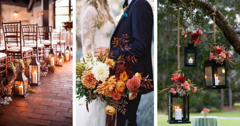 Matrimonio In Novembre : Sposarsi d autunno con il tema quot fall in love sìlasposi