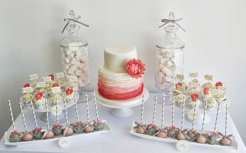 coral-and-grey-dessert-table-inspiration-via-sugarruffles-com