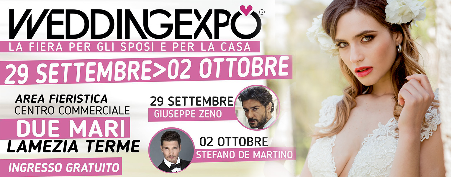 Wedding Expo: tappa a Lamezia Terme
