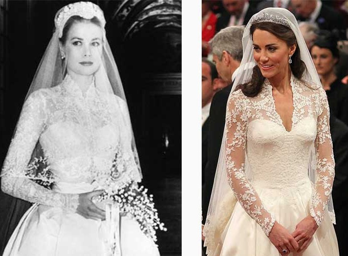 Grace Kelly e Kate Middleton
